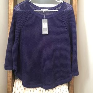 NWT Eileen Fisher linen pullover S